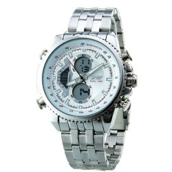 SKMEI 0993 Men Quartz Watch-White