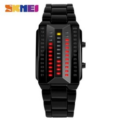 Skmei 1013 Men Creative Sport Watch-Black