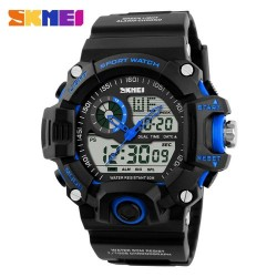 Skmei 1029 Men Digital/Analog Watch-Blue