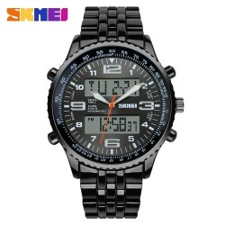 SKMEI 1032 Men Quartz Electronic Watch-Black