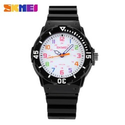 Skmei 1043 Kid's Quartz Watch-Black