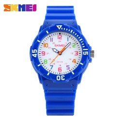 Skmei 1043 Kid's Quartz Watch-Deep Blue