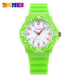 Skmei 1043 Kid's Quartz Watch-Green