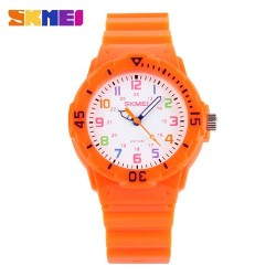 Skmei 1043 Kid's Quartz Watch-Orange