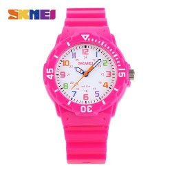 Skmei 1043 Kid's Quartz Watch-Pink