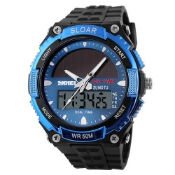 Skmei 1049 Men Quartz Watch-Blue