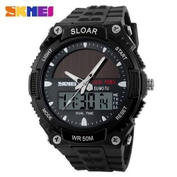 Skmei 1049 Men Quartz Watch-Black