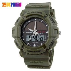 Skmei 1050 Men's Electronic Watch-Green