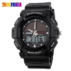 Skmei 1050 Men's Electronic Watch-Black