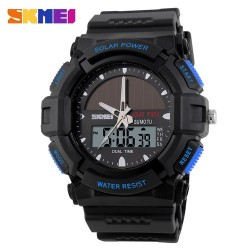 Skmei 1050 Men's Electronic Watch-Blue