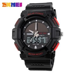 Skmei 1050 Men's Electronic Watch-Red