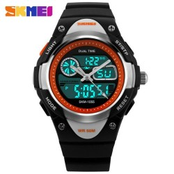 Skmei 1055 Kid's Quartz Watch-Black