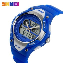 Skmei 1055 Kid's Quartz Watch-Blue