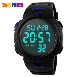Skmei 1068 Men Sport Watch-Blue