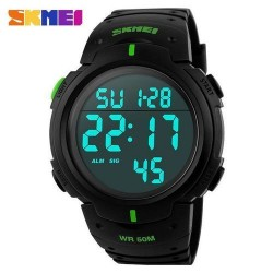 Skmei 1068 Men Sport Watch-Green