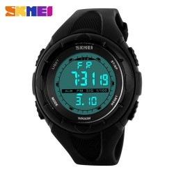 SKMEI 1074 Women Sport Watch-Black
