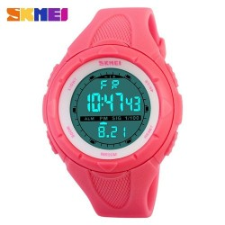 SKMEI 1074 Women Sport Watch-Pink