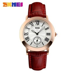 Skmei 1083 Women Fashion Watch-Red