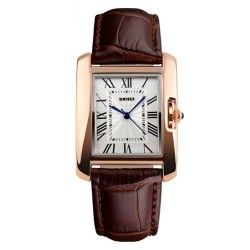 Skmei 1085 Women Quartz Watch-Coffee