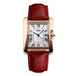Skmei 1085 Women Quartz Watch-Red