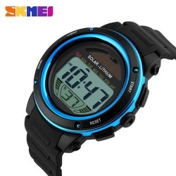 Skmei 1096 Men LED Digital Watch-Blue