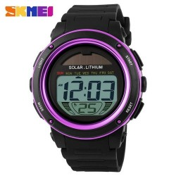 Skmei 1096 Men LED Digital Watch-Purple