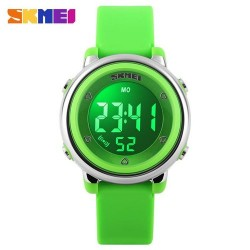 Skmei 1100 Kid's Fashion Watch-Green