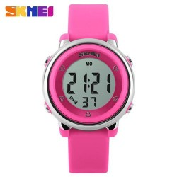 Skmei 1100 Kid's Fashion Watch-Pink