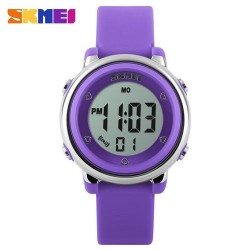 Skmei 1100 Kid's Fashion Watch-Purple
