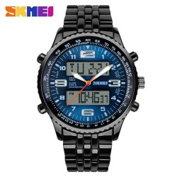 SKMEI 1032 Men Quartz Electronic Watch-Blue