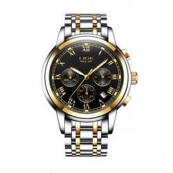 LIGE 9810B Men Quartz Wristwatch