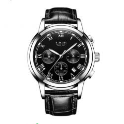 LIGE 9810 Men Quartz Wristwatch