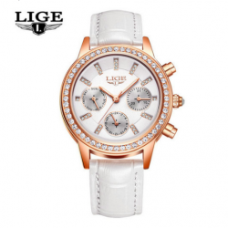 LIGE 9812 Women Quartz Watch