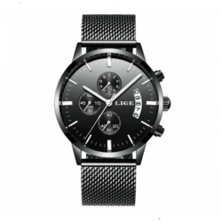 LIGE 9820 Men Quartz Watch