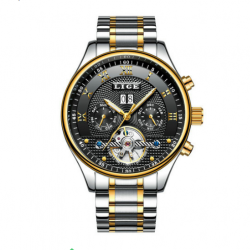 LIGE 9829B Men Watch