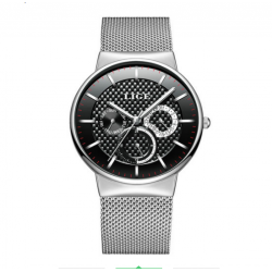 LIGE 9836 Men Quartz watch