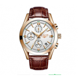 LIGE 9839 Men Quartz Watch