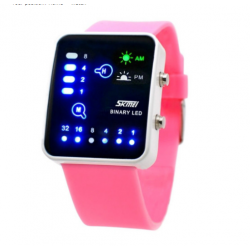 SKMEI 0890 Silicone Digital watch Rectangle