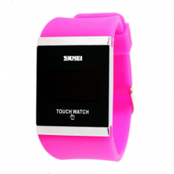 SKMEI 0983 Silicone Digital watch Rectangle