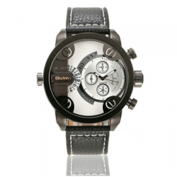 OULM 3130 Men Quartz Watch