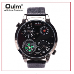 OULM HP3707 Men Quartz Watch