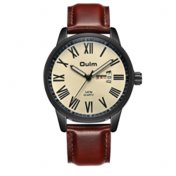 OULM HP8056 Men Japanese Quartz Watch