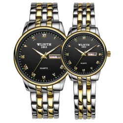 WLISTH Luxury Waterproof Couples Wristwatches