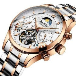 Haiqin Double Tourbillon Watch