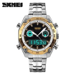SKMEI 1204 Men Quartz-Gold
